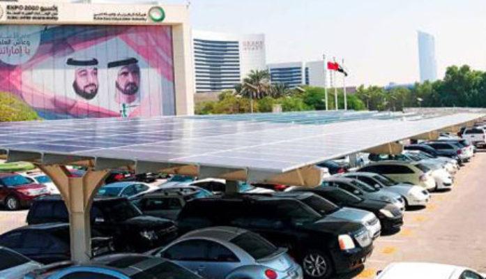 Dewa launches solar carports project